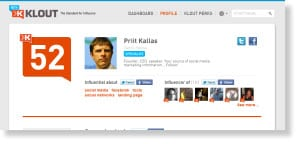 klout 54 Free Social Media Monitoring Tools [Update2012]