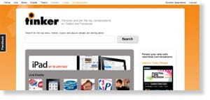 tinker 54 Free Social Media Monitoring Tools [Update2012]