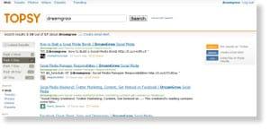 topsy 54 Free Social Media Monitoring Tools [Update2012]