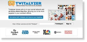 twitalyzer 69 Free Social Media Monitoring Tools [UPDATE 2013]