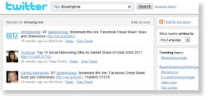 twitter search 54 Free Social Media Monitoring Tools [Update2012]
