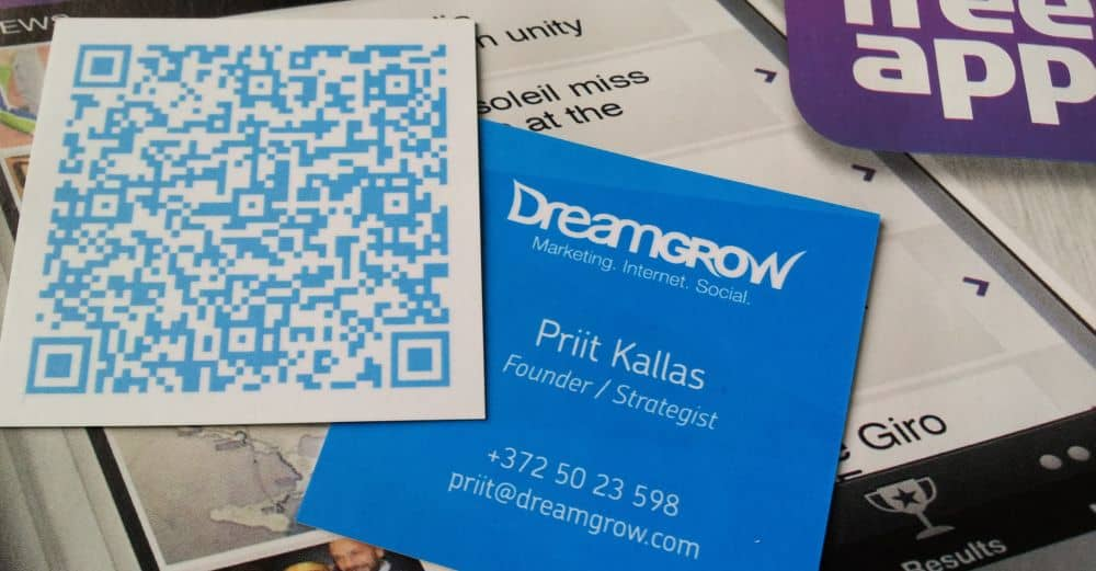 How to Use QR Codes to Market Your Business? @DreamGrow 2018