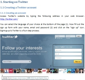 twitter for business ebook Twitter Business Guide: Communication and Marketing