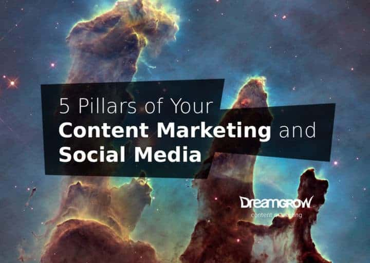 5 pillars of social media and content marketing strategy