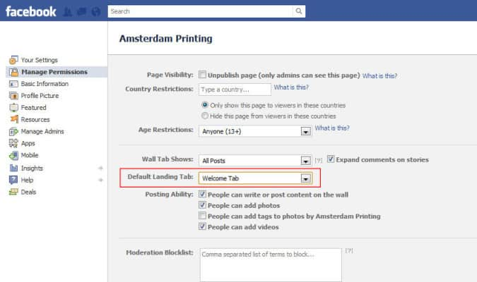 fb landing tab 675x400 How To Set Up a Custom Facebook Landing Page