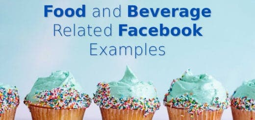 food beverage facebook examples