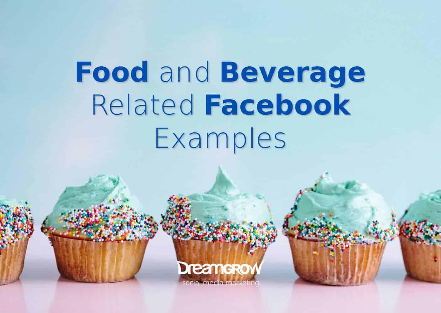 food beverage facebook examples