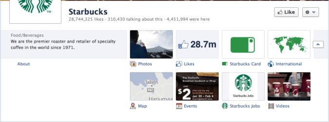Screen Shot 2012 02 29 at 4.06.08 PM 675x252 A View of Facebook Timeline Brand Pages and How to Enable it Right Now