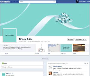 tiffany and co 300x254 3 Reasons Brands Should Embrace the New Facebook Timeline
