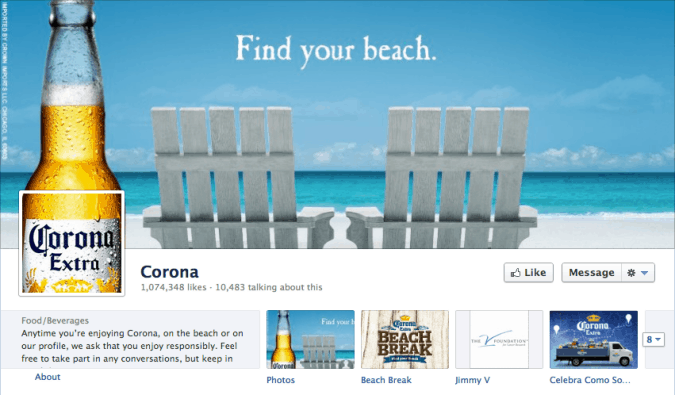 how to change cover photo on facebook business page
