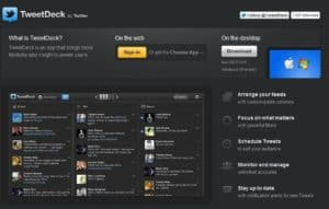 tweetdeck 300x191 The Best Free Twitter Tools