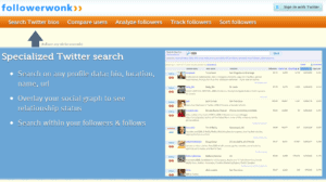 followerwonk 300x168 54 Free Social Media Monitoring Tools [Update2012]