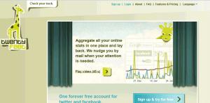 twentyfeet1 300x148 54 Free Social Media Monitoring Tools [Update2012]