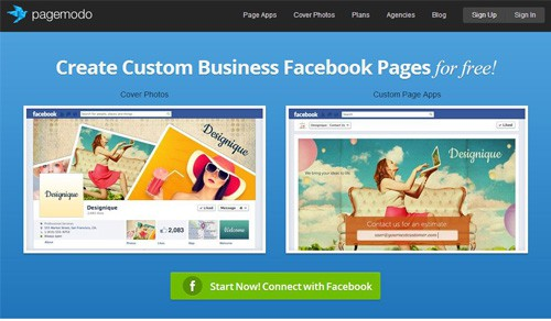 7 free facebook page tools to make your life easier now dreamgrow 2018 pagemodo free facebook page creation tools friedricerecipe Choice Image