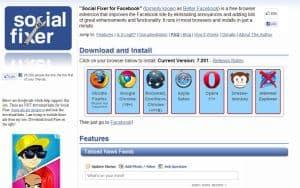 Social Fixer