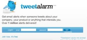 tweetalarm 300x140 69 Free Social Media Monitoring Tools [UPDATE 2013]