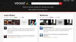 veooz.com  300x169 69 Free Social Media Monitoring Tools [UPDATE 2013]