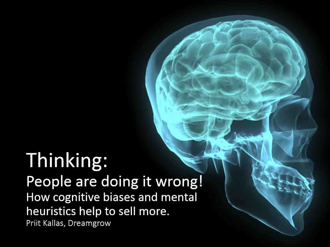 cognitive biases sales marketing