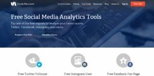 Simplymeasured free social media tools