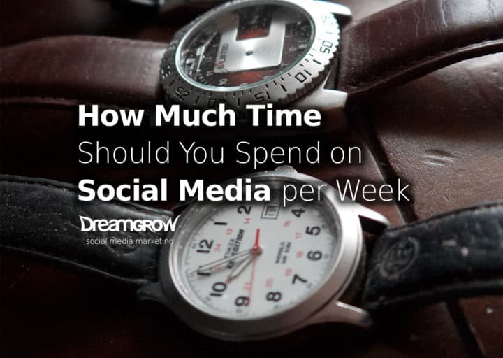 How Much time Should you spend on Social Media per week?