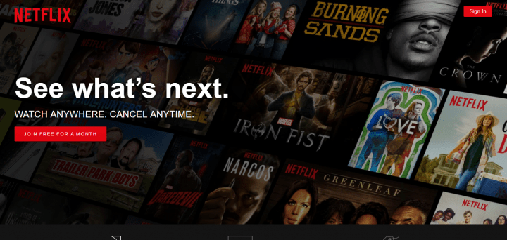 netflix cta call to action