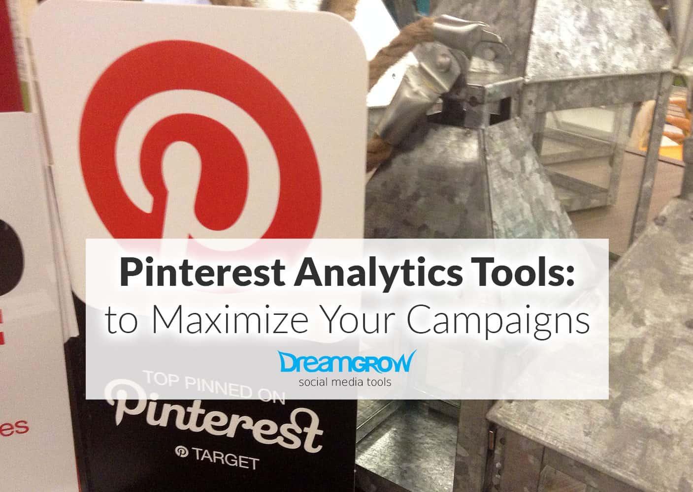 pinterest analytics tools