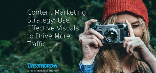 content marketing strategy photographer woman