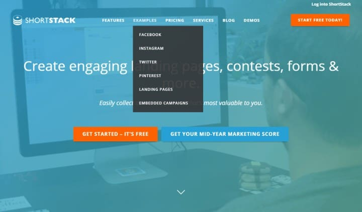 shortstack facebook pages contests tools