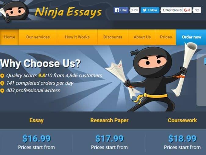 ninja-essays