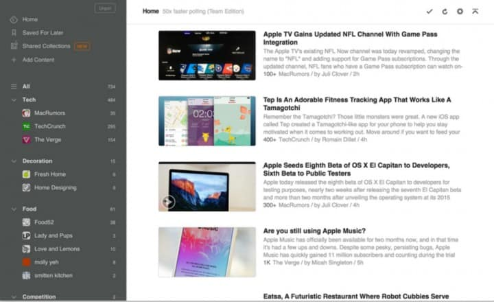 feedly-curation
