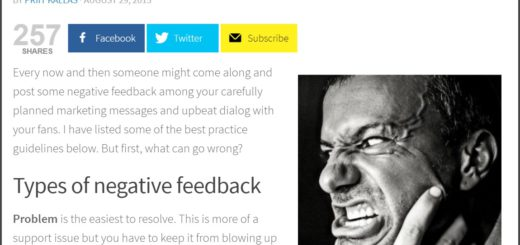 managing negative feedback priit