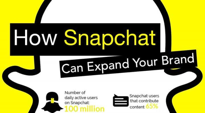 social media trends snapchat infographic