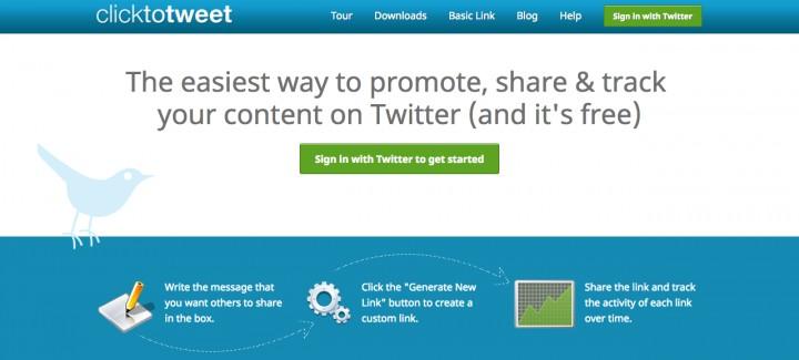 ClickToTweet growth hacking tools