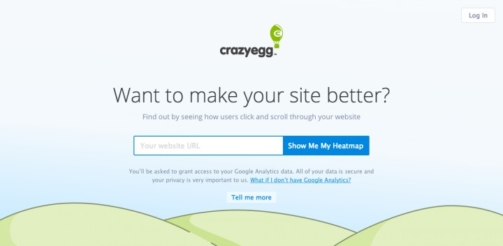 CrazyEgg growth hacking tools