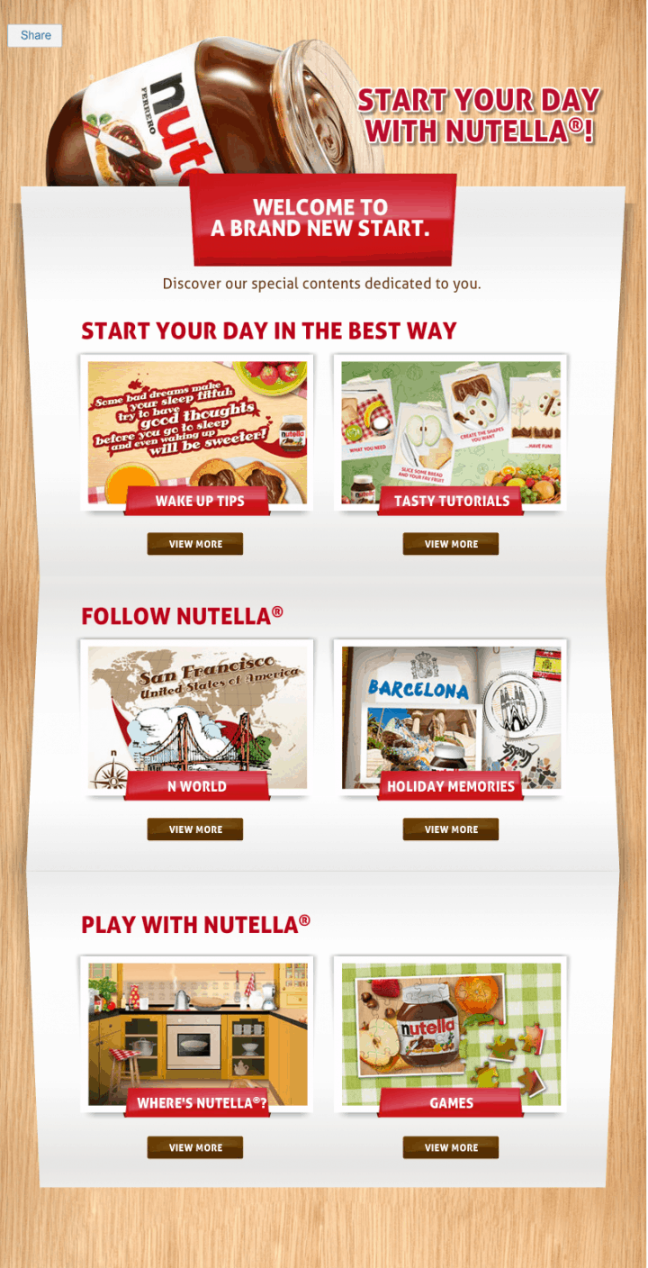 nutella-app-welcome