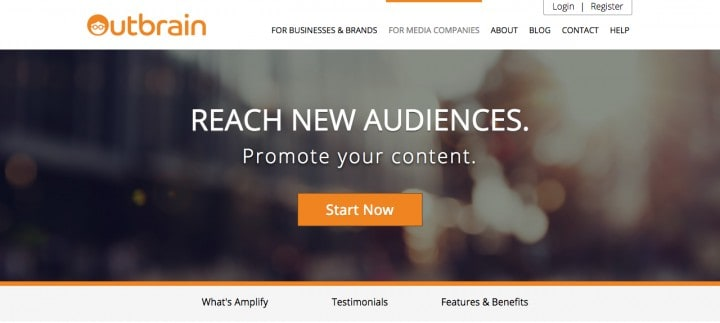 outbrain growth hacking tools