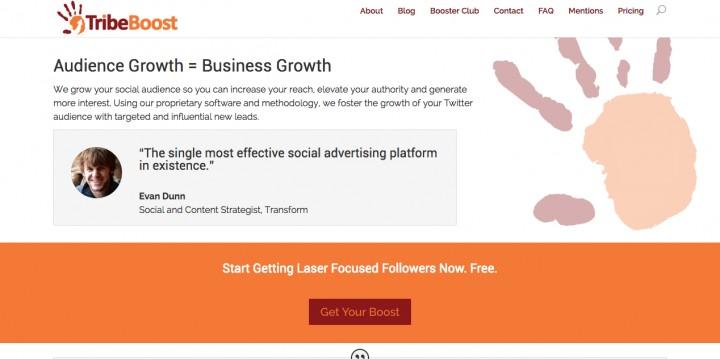 Tribeboost growth hacking tools