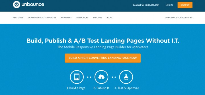 Unbounce growth hacking tools