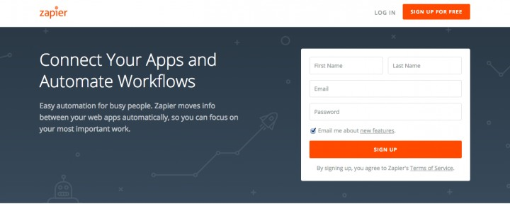 Zapier growth hacking tools