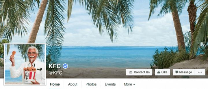 kfc-facebook-design