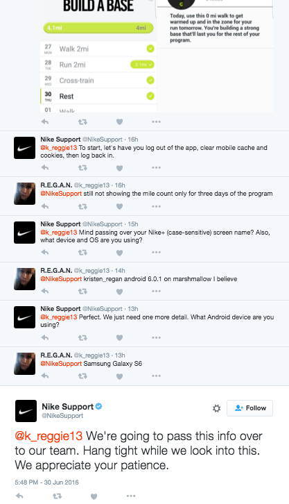 nike-customer support-seo