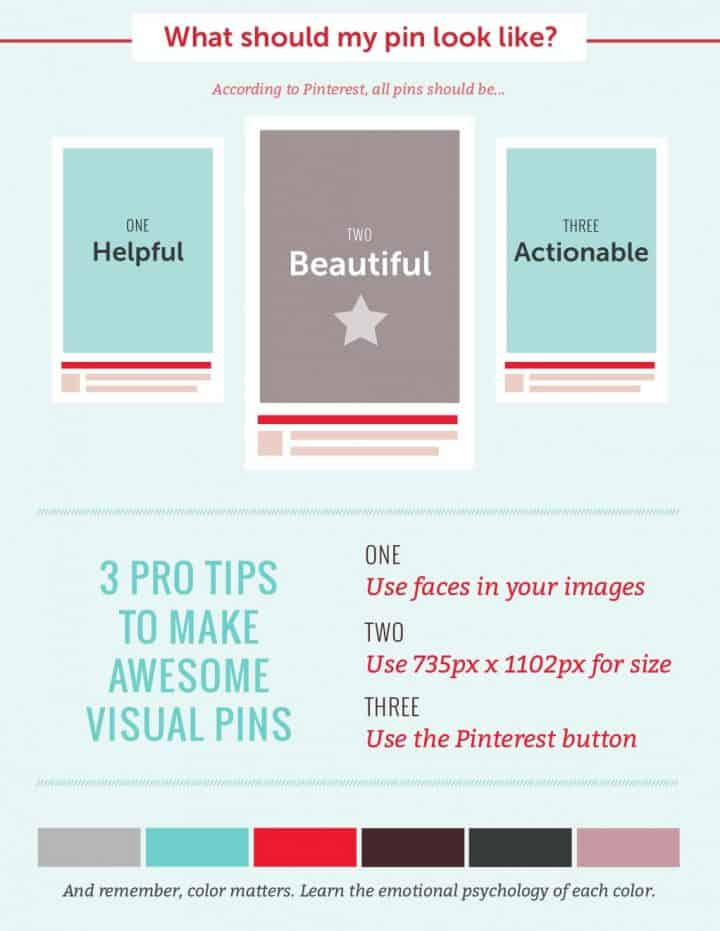 pinterest marketing infographic 3