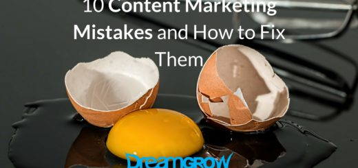 content marketing mistakes