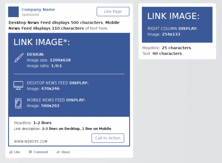 facebook-cheat-sheet-clicks-to-website