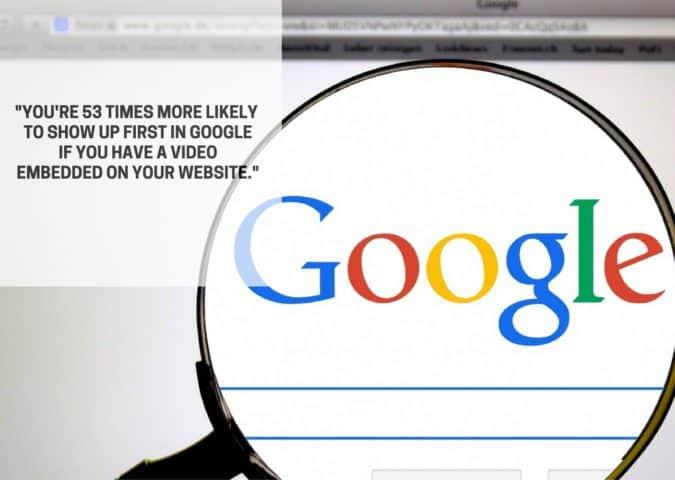 первый в Google-с-видео