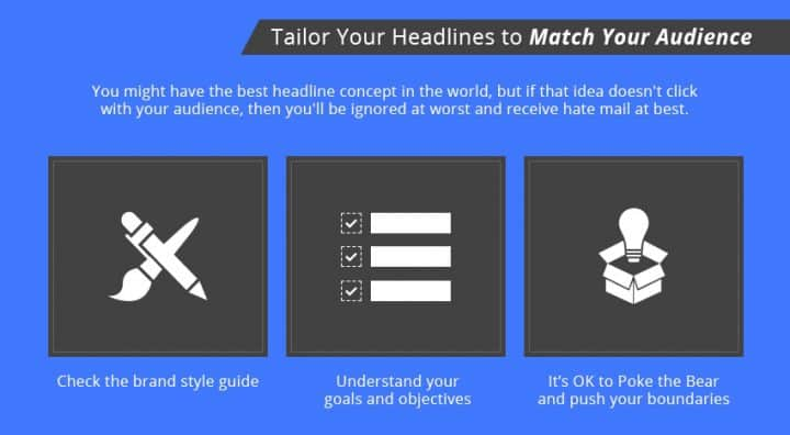 tailor headlines infographic