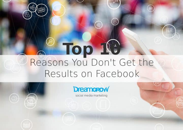 reasons facebook isn't working for your company