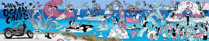 harley davidson instagram ads ocean