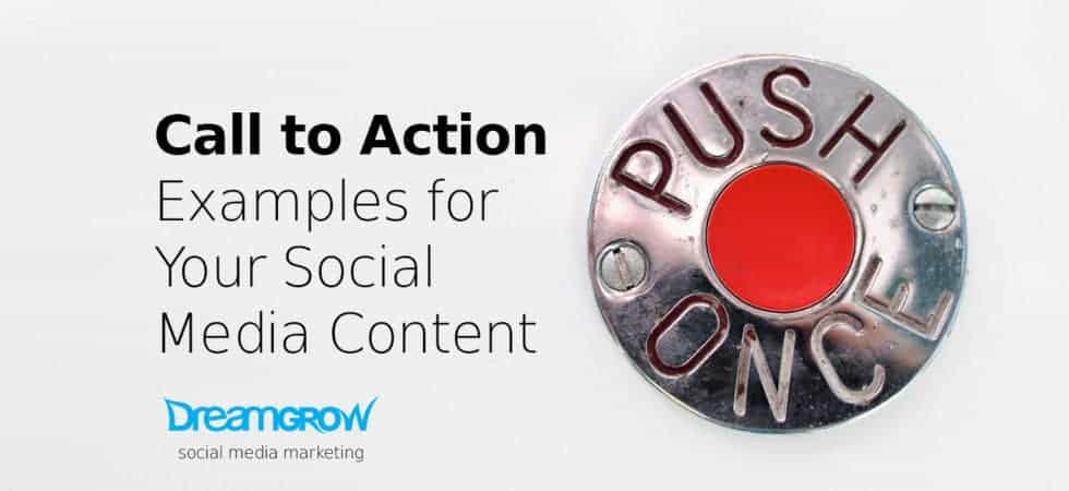 calls to action for social media