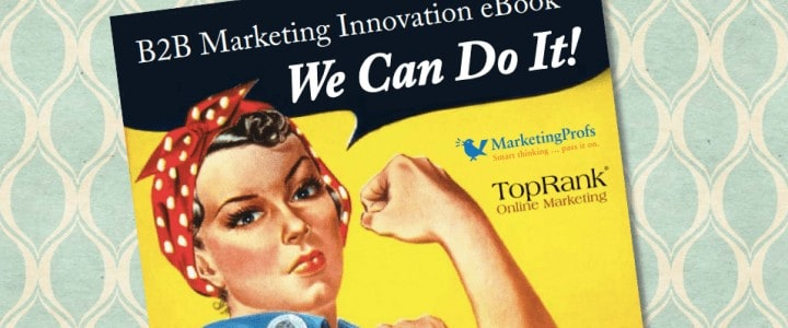 b2b marketing innovation ebook